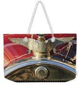 1915 Brewster-knight Model 41 Landaulet Hood Ornament 2 Weekender Tote Bag