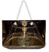 1915 Model-t Ford Hood Ornament Weekender Tote Bag