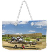 1916 Sopwith Pup Airplane On Airfield Poster Print Weekender Tote Bag