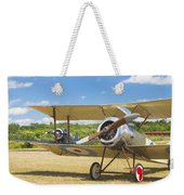 1916 Sopwith Pup Biplane On Airfield Canvas Photo Poster Print Weekender Tote Bag