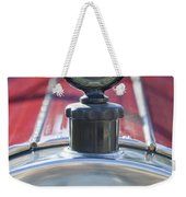 1919 Pierce-arrow Model 48 Dual Valve Roadster Hood Ornament Weekender Tote Bag
