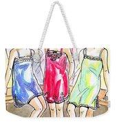 1920s Teddies Weekender Tote Bag