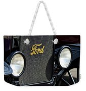 1925 Ford Model T Coupe Grille Weekender Tote Bag