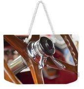 1925 Stutz 695 Speedway Sportster Steering Wheel Weekender Tote Bag