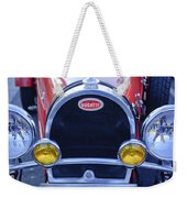 1927 Bugatti Replica Grille Headlights Weekender Tote Bag