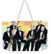 1927 New Yorkers Jazz Band Weekender Tote Bag