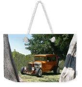 1929 Ford Butter Scorch Orange Weekender Tote Bag by Jack Pumphrey