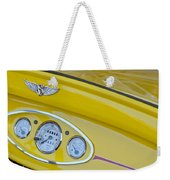 1929 Ford Model A Roadster Dashboard Instruments Weekender Tote Bag