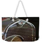 1929 Lasalle Hood Ornament Weekender Tote Bag