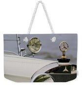 1929 Mercedes-benz S Tourer Hood Ornament Weekender Tote Bag
