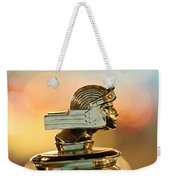 1929 Stutz Series M Four-passenger Dual-cowl Speedster Hood Ornament  Weekender Tote Bag