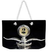 1930 Ford Hood Ornament  Weekender Tote Bag