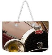 1931 Bugatti Type 55 Roadster Grille Emblem Weekender Tote Bag