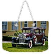 1931 Cadillac V12 Weekender Tote Bag