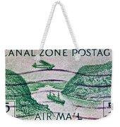 1931 Canal Zone Stamp Weekender Tote Bag
