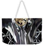 1931 Chrysler Cg Imperial Roadster Hood Emblem Weekender Tote Bag