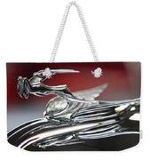 1931 Chrysler Cg Imperial Roadster Hood Ornament Weekender Tote Bag