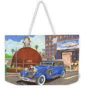 1931 Lincoln K Dietrich Phaeton Weekender Tote Bag