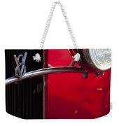 1932 Ford Roadster Grille Weekender Tote Bag