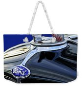 1932 Ford V8 Hood Ornament Weekender Tote Bag