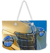 1933 Chevrolet Grille And Headlights Weekender Tote Bag
