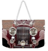 1934 Bentley 3.5-litre Drophead Coupe Grille Weekender Tote Bag