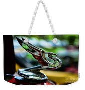 1934 Chevrolet Flying Eagle Hood Ornament - 2 Weekender Tote Bag