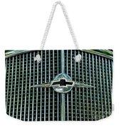 1934 Chevrolet Grill  Weekender Tote Bag by Paul Ward