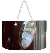 1934 Ford Headlight And Grill Weekender Tote Bag