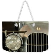 1934 Mg Pa Midget Supercharged Special Speedster Grille Weekender Tote Bag by Jill Reger