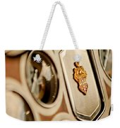 1934 Packard 1104 Super Eight Phaeton Emblem Weekender Tote Bag by Jill Reger