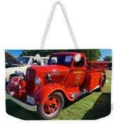 1935 Dodge Firetruck Weekender Tote Bag