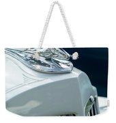 1935 Packard Sedan Hood Ornament Weekender Tote Bag