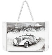 1936 Auburn 810 Weekender Tote Bag by Jack Pumphrey