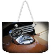 1936 Gmc Pickup Truck Hood Ornament Weekender Tote Bag