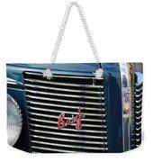 1937 Buick Grille Emblem Weekender Tote Bag