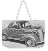 1937 Chevy Weekender Tote Bag