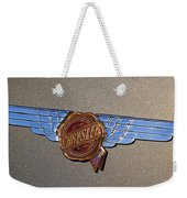 1937 Chrysler Airflow Emblem Weekender Tote Bag