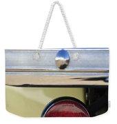 1937 Hudson Terraplane Pickup Truck Taillight Weekender Tote Bag