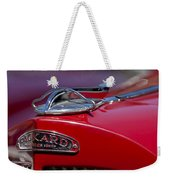 1937 Packard 115-c Cabriolet Hood Ornament  Weekender Tote Bag