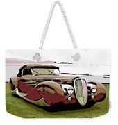 1938 Delahaye Cabriolet Weekender Tote Bag
