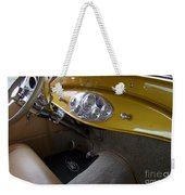 1938 Ford Roadster Dashboard Weekender Tote Bag