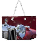 1938 Mg Ta Hood Ornament Weekender Tote Bag