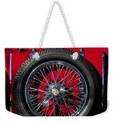 1938 Mg Ta Spare Tire Weekender Tote Bag