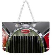 1939 Bugatti Type 57 Galibier Sports Saloon Hood Emblem Weekender Tote Bag