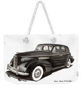 1939 Lasalle Sedan Classic Weekender Tote Bag