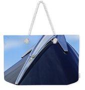 1939 Lincoln Zephyr Hood Ornament Weekender Tote Bag