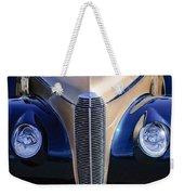 1940 Cadillac Lasalle Convertible Grille Weekender Tote Bag