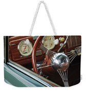 1940 Chevrolet Steering Wheel Weekender Tote Bag