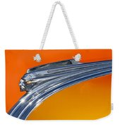 1941 Pontiac Chief Hood Ornament Weekender Tote Bag